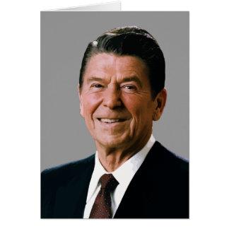 President Reagan Card