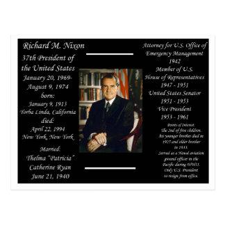 President Richard Nixon Postcard