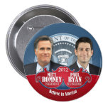 President Romney and Vice Ryan Buttons