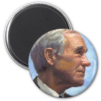 President Ron Paul 2 Inch Round Magnet