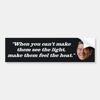 President Ronald Reagan '1981 Portrait' Bumper Sticker
