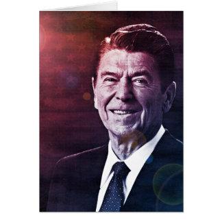 President Ronald Reagan Card