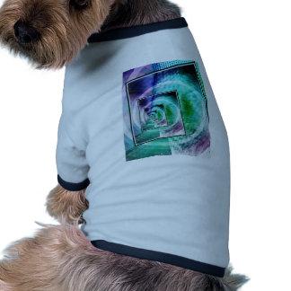 President Ronald Reagan Pop Art Doggie T-shirt