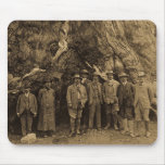 President Roosevelt and John Muir Beneath (Sepia) Mouse Pad