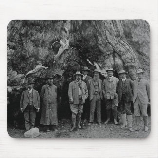President Roosevelt and John Muir California 1903 Mousepads