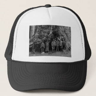 President Roosevelt and John Muir California 1903 Trucker Hat