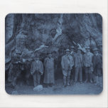 President Roosevelt and John Muir  --  (Cyan) Mouse Pads