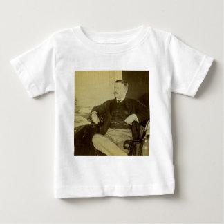 President Roosevelt at His Desk in White House Shirt