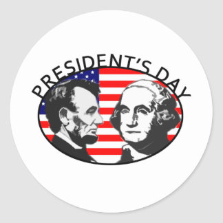 PRESIDENT S DAY STICKERS