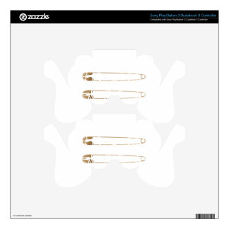 President Safety Pin PS3 Controller Decal