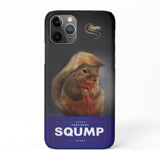 President Sqump Portrait iPhone / iPad case