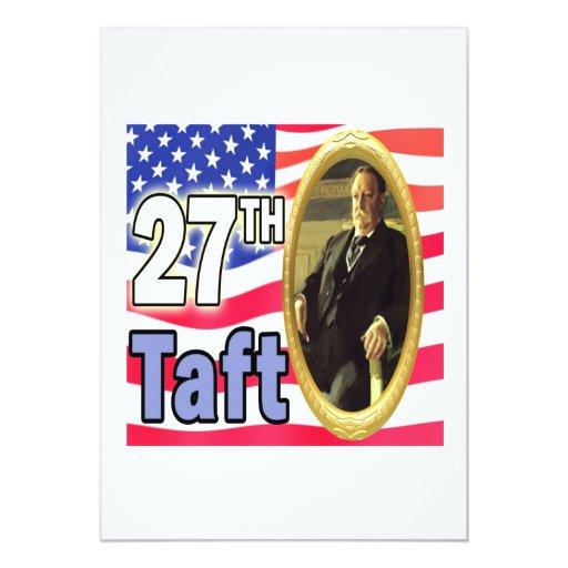 President Taft Card