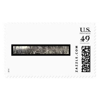 President Taft Detroit Photo 1911 Stamp