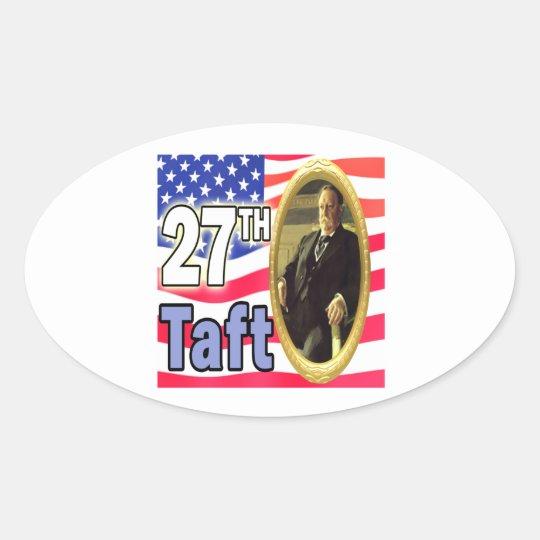 President Taft Oval Sticker