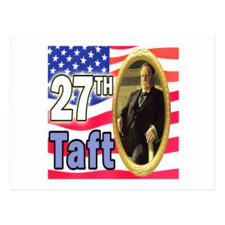 President Taft Postcard