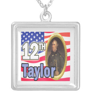 President Taylor Square Pendant Necklace