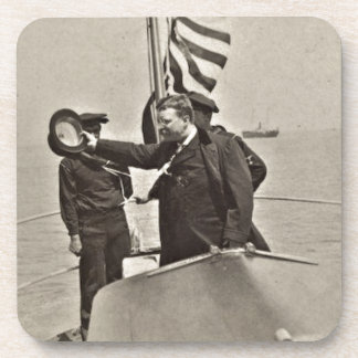 President Teddy Roosevelt on Algonquin Bull Moose Coaster