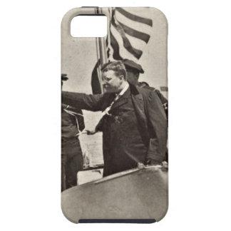 President Teddy Roosevelt on Algonquin Bull Moose iPhone SE/5/5s Case