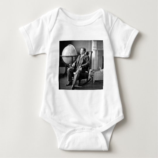 President Teddy Roosevelt Vintage White House Baby Bodysuit