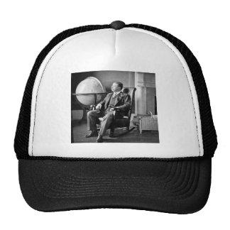 President Teddy Roosevelt Vintage White House Trucker Hat