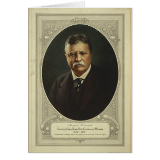 President Theodore Roosevelt by Forbes Lithography Card