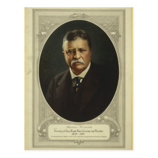 President Theodore Roosevelt by Forbes Lithography Postcard