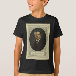 President Theodore Roosevelt by Forbes Lithography T-Shirt