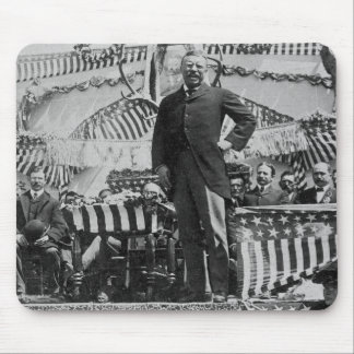 President Theodore Roosevelt in Wyoming Mousepads
