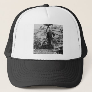 President Theodore Roosevelt in Wyoming Trucker Hat