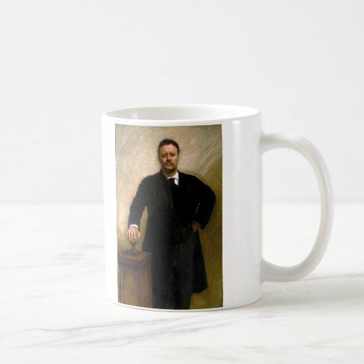 President Theodore Roosevelt John Singer Sargent Coffee Mug