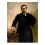 President Theodore Roosevelt John Singer Sargent Post Cards