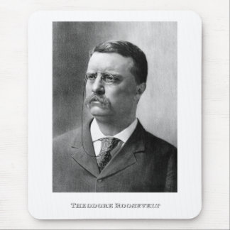 President Theodore Roosevelt Mouse Pad