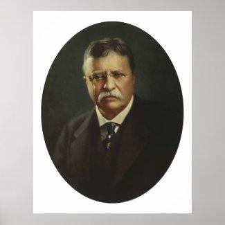 President Theodore Roosevelt print