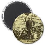 President Theodore Roosevelt Speaking 1903 2 Inch Round Magnet