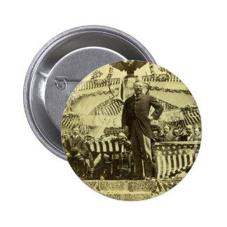 President Theodore Roosevelt Speaking 1903 Buttons