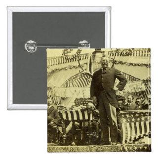 President Theodore Roosevelt Speaking 1903 Pins