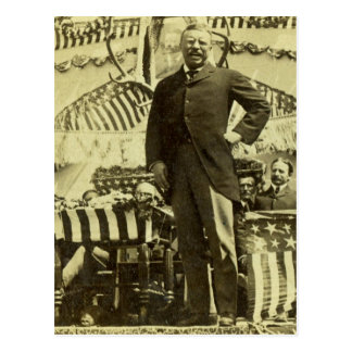 President Theodore Roosevelt Speaking 1903 Post Card