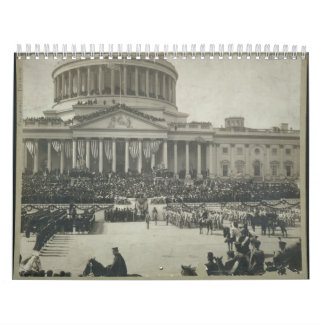 President Theodore Roosevelt Taking Oath of Office Calendar
