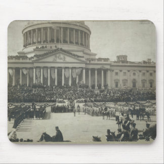 President Theodore Roosevelt Taking Oath of Office Mouse Pad