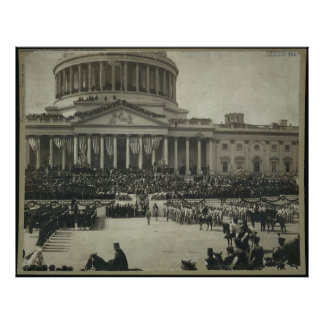 President Theodore Roosevelt Taking Oath of Office Poster
