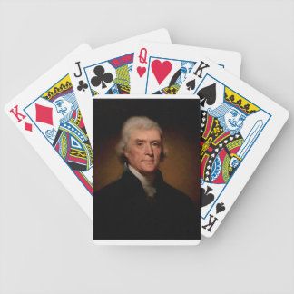 President Thomas Jefferson Bicycle Playing Cards