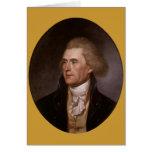 President Thomas Jefferson greeting cards