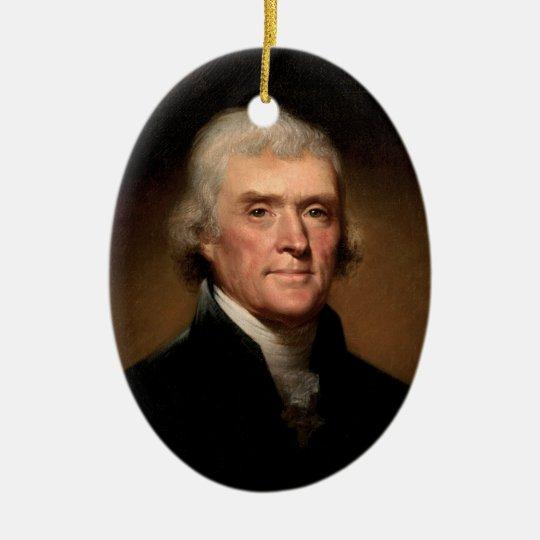 President Thomas Jefferson Ornament