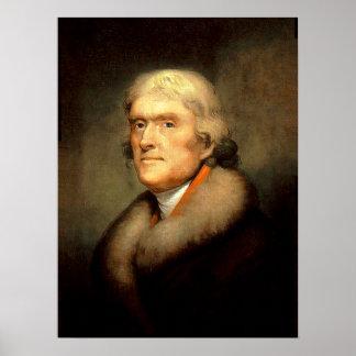 President Thomas Jefferson Print