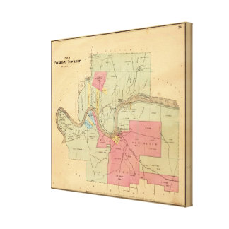 President Township Stretched Canvas Prints