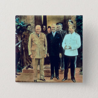 President Truman and Joseph Stalin Pinback Button