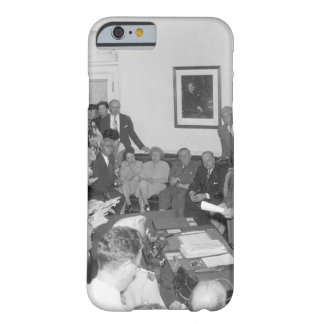 President Truman announces Japan's_War Image Barely There iPhone 6 Case