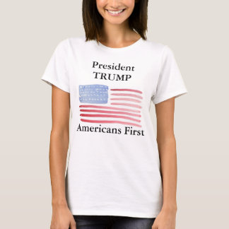 President Trump Americans First T-Shirt