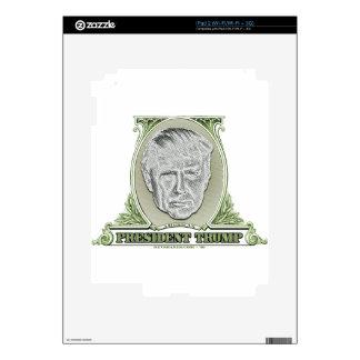 President Trump Dollar Decal For The iPad 2