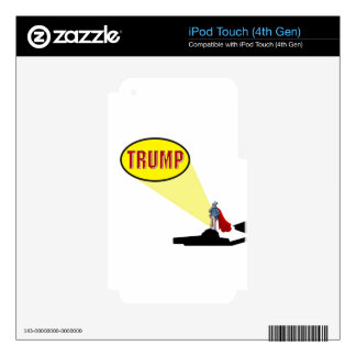 president trump iPod touch 4G decals